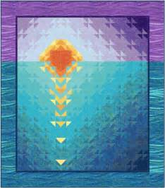 sunset at sea quilt pattern downloadable