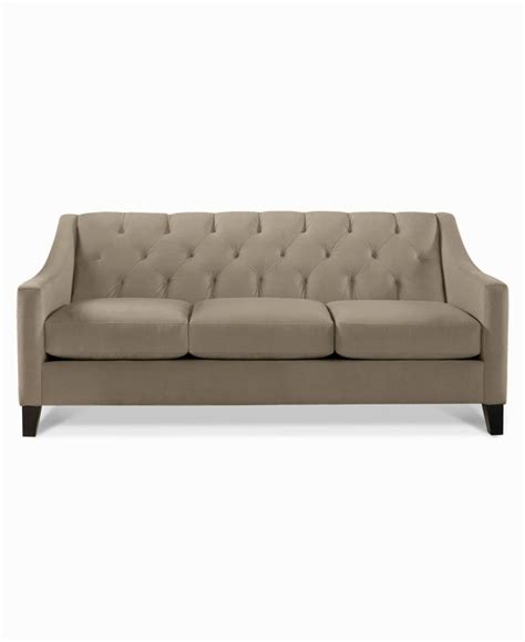 couches macys chloe velvet tufted sofa couches sofas furniture