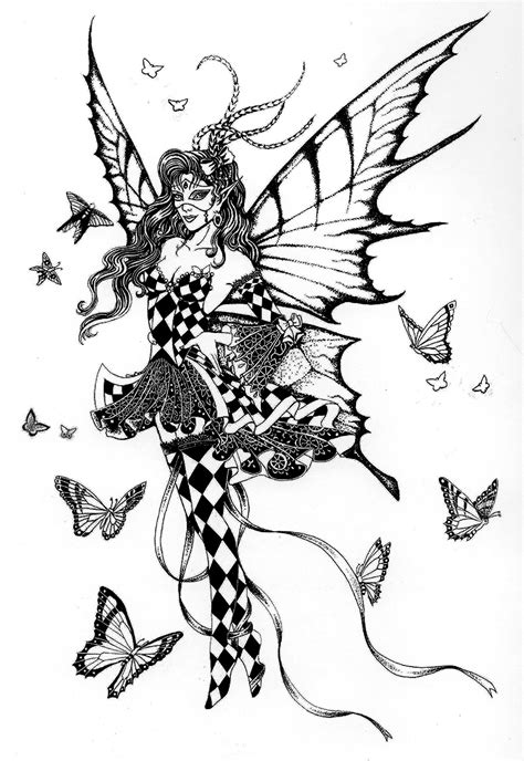 and fairies a grayscale coloring book fairies mermaids dragons and more books click here for the size image 1102x1600 481kb