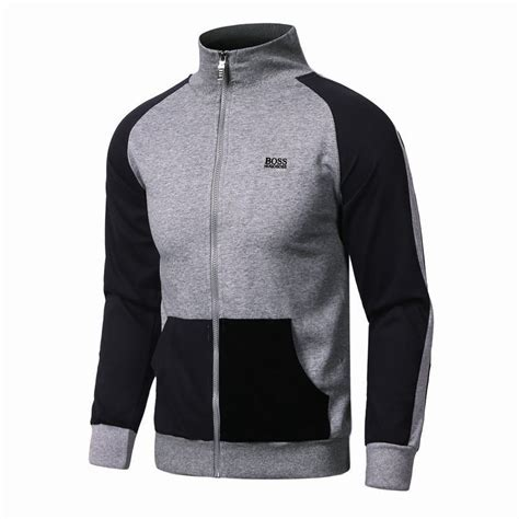 Hugo Zipper D 2015 hogo apparel veste zipper silver