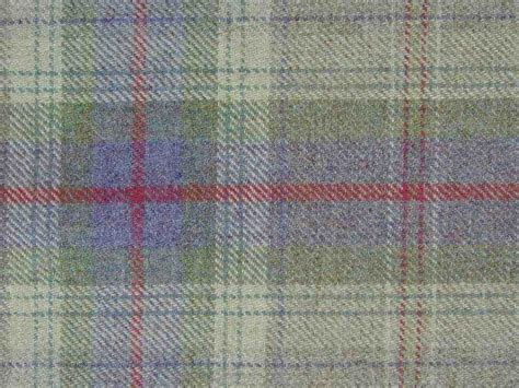 Wool Plaid Upholstery Fabric by 100 Wool Tartan Plaid Lavender Green Fabric Curtain Upholstery