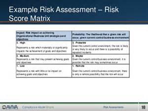 risk assessments best practice and practical approaches