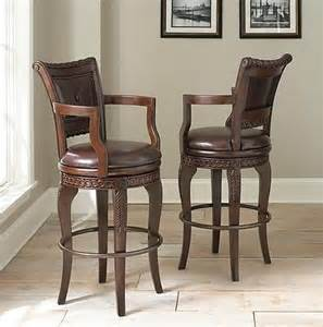 Used Bar Stools For Sale New And Used 2 Antoinette Leather Bar Stools W Memory