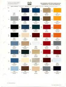 truck paint colors paint chips 1990 chevy truck fleet commercial