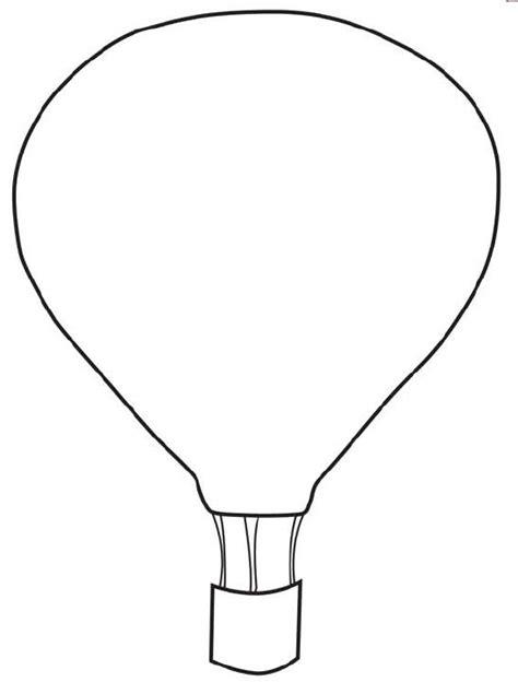 Air Balloon Template Printable free printable air balloon template collage