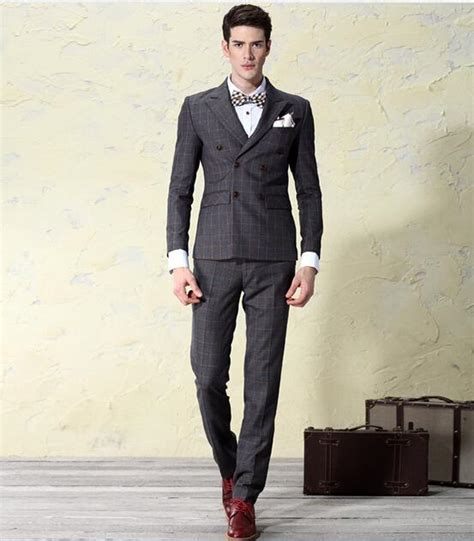 2017 breasted suit autumn vintage mens wedding