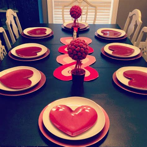 table decorating ideas for valentines 25 s day table setting ideas home