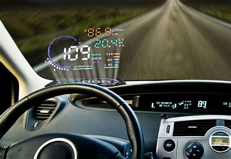 mustang heads up display add a high tech up display to any car for 50 bgr