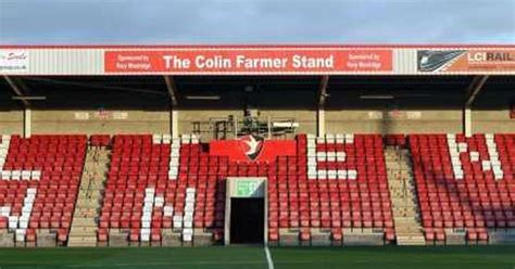 Ring Stand Football Club 3 raffle could win businesses sponsorship of cheltenham town fc stand gloucestershire live