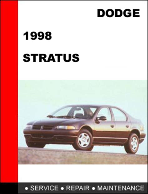 service manual 1998 dodge stratus service manual on a relays haynes repair manual chrysler