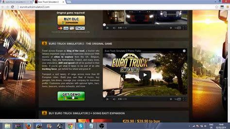 how to make euro truck simulator 2 full version euro truck simulator 2 free full game easy youtube