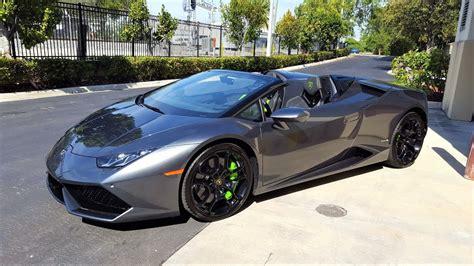 Lamborghini Start by Lamborghini Huracan Spyder Start Up Revs Angry Bull Ride