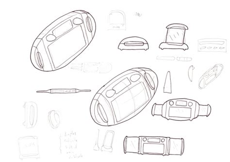 Radio 4 Sketches by Product Design Sketches By Nick Warne At Coroflot