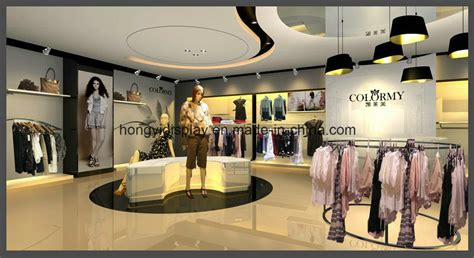 shop decoration china ladies clothing store display design for clothes