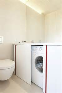 bathroom design with washer and dryer small laundry