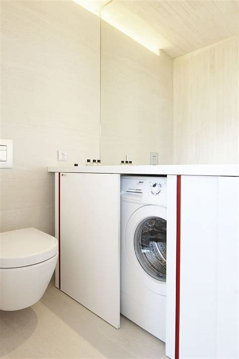 small bathroom design  washer  dryer small room