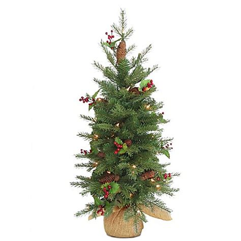 national tree 3 foot nordic spruce battery operated berry