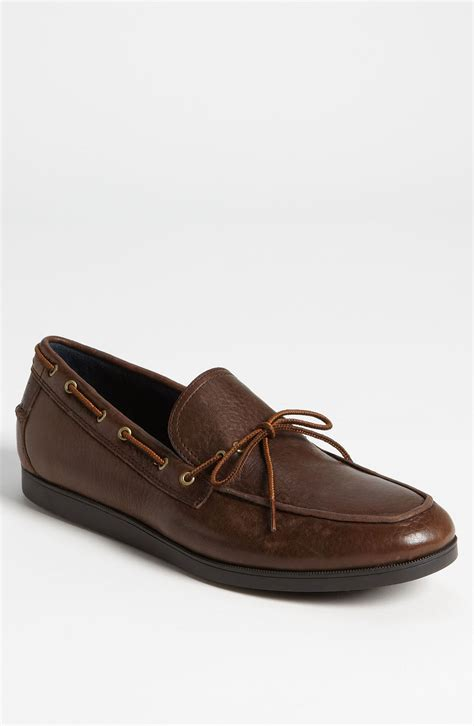 cole haan boat shoes cole haan air mason boat shoe in brown for men dark brown