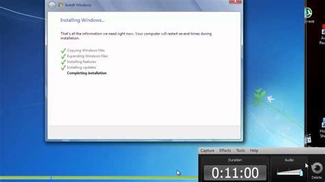 cara format ebook windows 7 cara menginstall windows 7 format os youtube