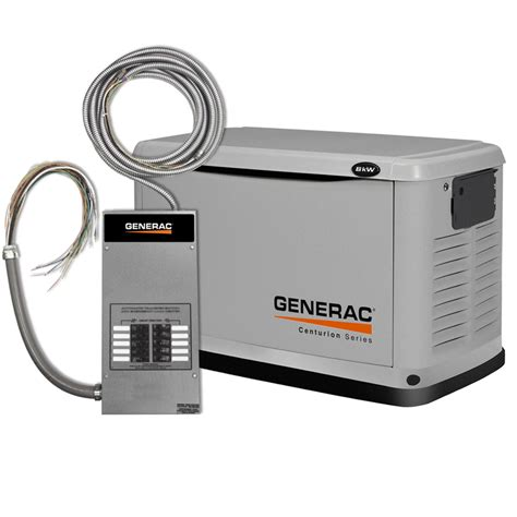 shop generac centurion 8000 watt lp 7000 watt ng