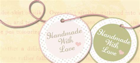 Handmade Label - handmade label tag digital printable 2