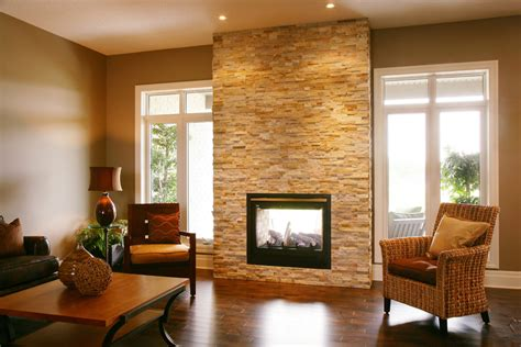 Indoor Outdoor Sided Fireplace by Sided Fireplace Indoor Outdoor Bedroom With Bookcase Bookshelves Built In