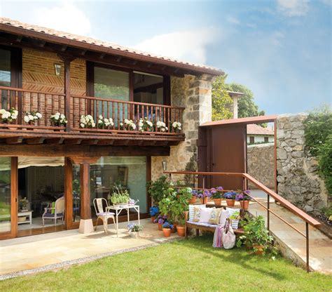 Pueblo Style Homes by Casa Familiar En Cantabria Con Jard 237 N