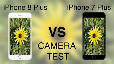 iPhone 8 Plus vs iPhone 7 Plus CAMERA TEST!   YouTube