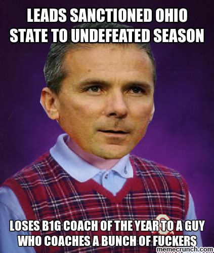 Ohio State Memes - urban meyer funny memes