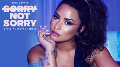 demi lovato sorry not sorry audio demi lovato sorry not sorry official instrumental