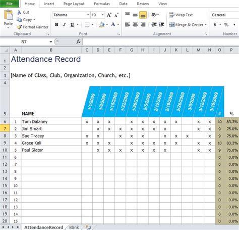 attendance improvement plan template free employee attendance sheet template excel tmp