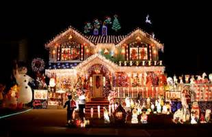 best christmas decorated homes village christmas home decoration 2015 village of odell