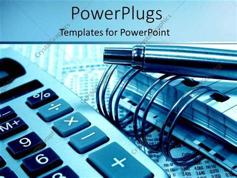 accounting powerpoint templates powerpoint template accounting and calculating with pens