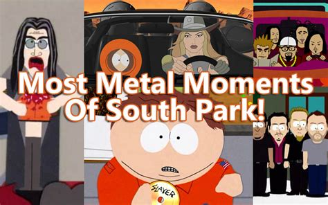 to the metal a of the south mystery books the most metal moments of south park ghost cult magazine
