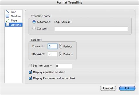 format trendline excel 2007 how to calculate r value in excel 2010 how to calculate