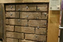 garagen köln mit lehmziegel ausgemauertes fachwer vor dem verputzen