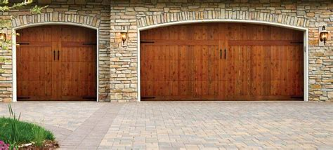 Doorlink Garage Doors by Doorlink Woodland Creek Wood Overlay Doors