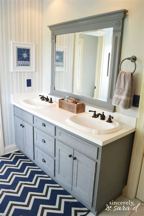 painted bathroom painting bathroom cabinets on pinterest basement floor