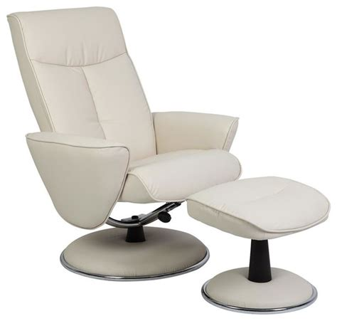 swivel recliner chairs contemporary mac motion chairs snow white bonded leather swivel