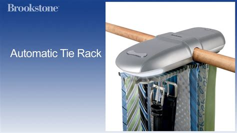 Electric Tie Rack by Automatic Tie Rack