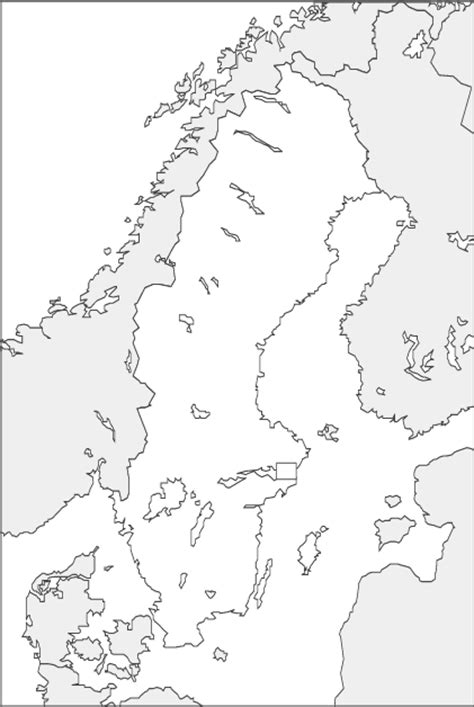 scandinavia map coloring page abcteach printable worksheet blackline maps sweden