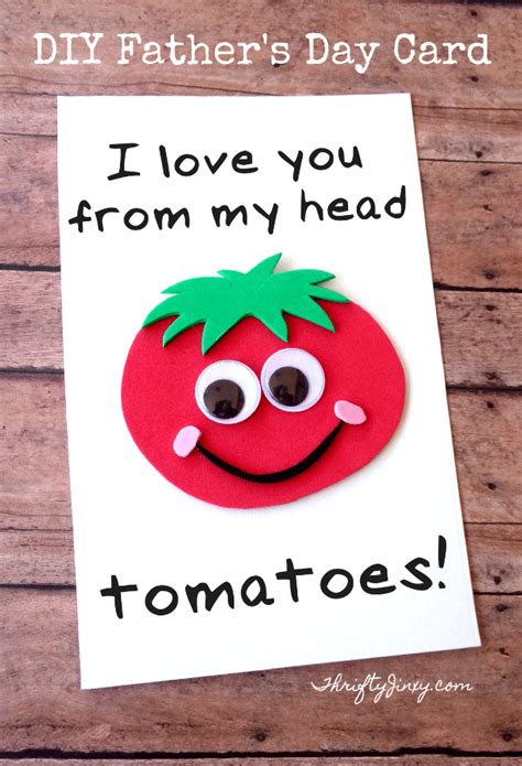diy s day card template diy s day tomato card with printable template
