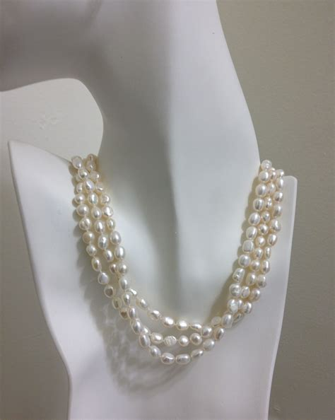 freshwater pearls for jewelry get a look of neck with freshwater pearl necklace