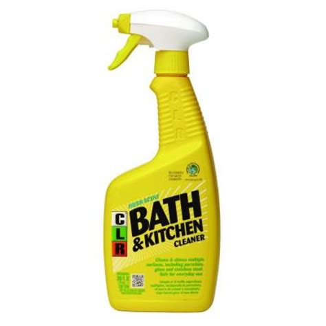 clr bathtub clr 26 oz bath and kitchen cleaner bk 2000 the home depot