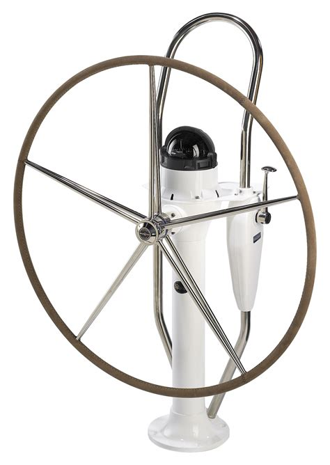 folding sailboat wheel steering lewmar