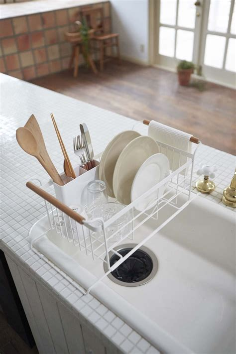Tosca White tosca the sink dish drainer rack in white design by