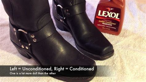 how to condition leather boots