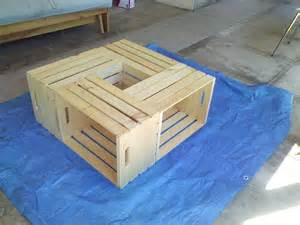 but i digress wooden crate coffee table day 2