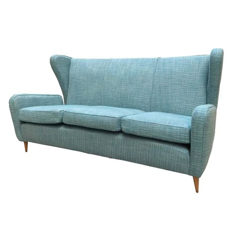 1950s style sofa beautiful sofa 1950 gio ponti style at 1stdibs