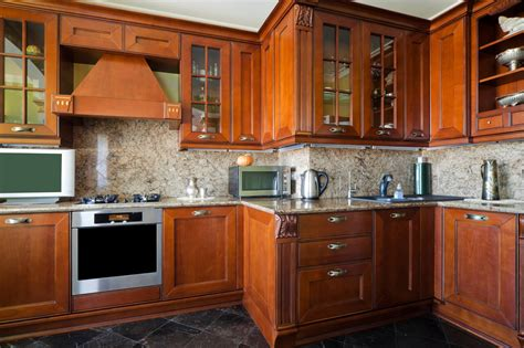 Types Of Cabinets For Kitchen by What Type Of Wood Should I Use For My Kitchen Cabinets